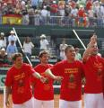 Copa Davis - semifinal España 3/1 a EEUU