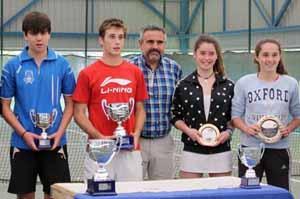Gonzalo Martínez y Marta Sexmilo campeones