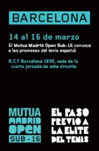 Mutua Madrid Open S16 - Barcelona